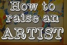 Learning: The Arts / Resources for studying the arts (art, music, etc) and creating art in your home or school. / by Angie | RealLifeAtHome.com