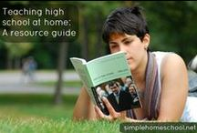 Homeschool - High School / Tips, ideas, and helpful resources for homeschooling during high school