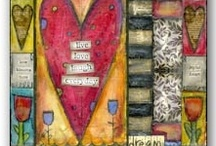 Art Journal - Mixed Up Media / Art Journaling..and Mixed Media Inspirations / by Leah Fox