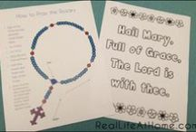 Catholic Kids / Activities, Printables, and Ideas for Celebrating the Catholic Liturgical Year