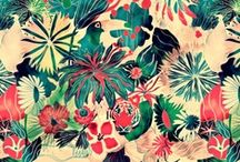 Prints // Patterns / by Hannah Mudge
