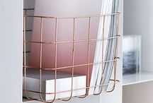 metallics / The shine's on design with brilliant flashes of silver, gold and brass metals.