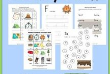 Printables / An awesome collection of printables for kids, families, home, and more.