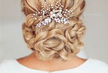 Wedding | Bridal hair | 30+ Beautiful Wedding Hairstyles to Inspire You / glamorous, soft, sexy, romantic and beautiful hairstyles to inspire