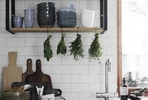 Kitchen Love / A curated collection of beautiful kitchens I would love to have in my dream home and attainable design of kitchens I could actually have in my next home.  Cabinets | Countertops | Lighting | Faucets | Flooring | Islands