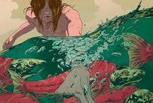Illustration / by Rafael Berndt (Pqno)