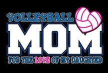 Volleyball / My eldest daughter played volleyball from 3rd grade through high school. Now my youngest wants to play in high school too. This board is for girl's/women's volleyball.  / by Kelly Stamper