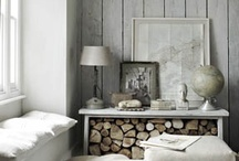 Rustic Natural Home / Log cabins, exposed beams, roaring open fires and lots of natural texture. / by KitzieG Designs By Laura Duffey