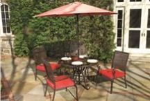 Patio / Patio furniture from Rio Brands - Rio Creations patio and outdoor furniture comes in versatile designs.  Mix and match from our many table and chair styles to create a space you'll love to spend time in.