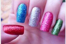 Nails Art - Unhas Decoradas / Técnicas variadas para decorar unhas / by BijouxMix Cinthia