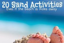 Fun for Kids at the Beach / Activities and ideas for family and kid fun at the beach
