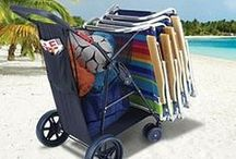 Take me to the beach / Pins and inspiration from our fans on what they take to the beach