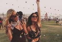 ➳ Festival Season / From Coachella to Bonaroo to Governor's Ball.  Festival fashion from East to West  ❥ ☮ ✸ ☯ ☪ ❂ ∞ / by Beauty Binge