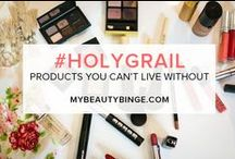 Holy Grail Products / by Beauty Binge