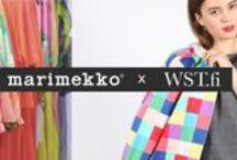 Marimekko second hand by WST / Marimekko x WST Second hand collection, in collaboration with Marimekko design house. Shop the collection at: http://wst.fi/54-marimekko