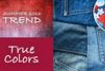 True Colors 2016 Fashion Trends / Spring 2016 fashion that showcases True Colors