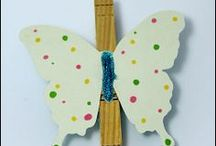 Crafty Kids / fun arts and crafts projects for kids with help from mom and dad