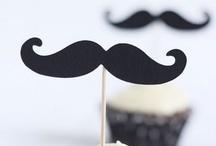 schnurrbart | moustache / by Annette Richter [blick7]