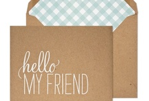 papeterie | stationery / by Annette Richter [blick7]