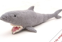Shark Week 2012 / So I was thinking about some inspiration for this year's shark week for Etsy, since I completely missed out last year.  I've been googling some ideas for jewelry, and came up with some interesting inspiration! / by Melissa Williams