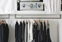 INTERIOR DESIGN Closet / Garderob klädförvaring / by Camilla Callenmark