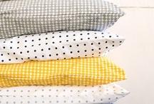 FABRICS & PILLOWS / tyger, textilier, textiles / by Camilla Callenmark