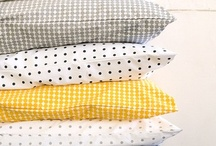 FABRICS & PILLOWS / tyger, textilier, textiles