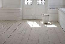 INTERIOR DESIGN Wooden floors / Trägolv plankgolv wooden floors flooring / by Camilla Callenmark