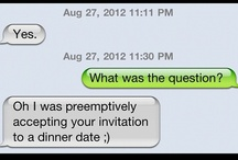 =Hawkward Advances= / A collection of messages I've received from socially awkward guys. These images are all mine. See more: http://www.hawkwardtexts.com / by Christy Buena