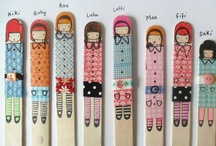 Wonderful Washi Tape / Washi tape - that cool stuff you can do even cooler stuff with. Go nuts!