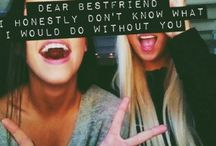 To My Bestfriend.✿ / by Christina Dancy