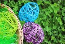 Easter Crafts and Activities / Easter crafts, recipes and decor ideas