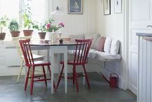 PROJECT dining area / Swedish dining area for country house