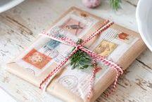 Regalos / Lindas envolturas de regalos DIY