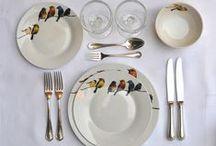 Juegos de platos y tazas con diseño / Colección de juegos de platos que me gustan