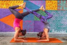 Yummy Yoga / Yoga clothes and poses.