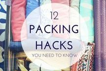 Packing Tips / Best packing advice and tips for traveling efficiently with no unnecessary baggage fees!