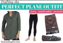 Flight Outfits / My picks for the best comfy outfits to wear while traveling.