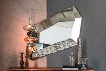 Striking Mirrors / Be inspired by our range of unique and modern mirrors by some of the worlds best brands.