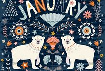 January / Looking forward to the first month of the year.