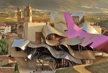 I Crooked Heart Gehry  / You have to bumble forward into the unknown. -- Frank Gehry   / by Kara VL Meyer | The KVLM