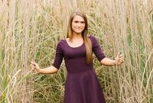 senior girl poses / Ideas for senior sessions / by Amy Bethune Photography