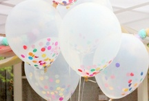 Wedding Balloons / My favourite wedding decoration detail