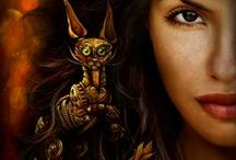Obsidian Eyes - YA steampunk novel / YA steampunk novel, coming March 24, 2014