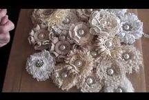 Flower making / by Nancy Olsen