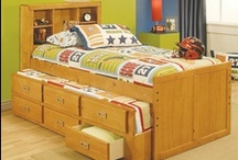 Kid's Bedroom / Creating a bedroom for your kids that matches their creativity, imagination and energy is easy with Aaron's.   Be sure to enter our Renovate Your Sleep Sweepstakes! Enter to win the Aaron's bedroom group set of your choice: http://bit.ly/SqPGN9  (up to $1500, sweepstakes ends December 31, 2012)