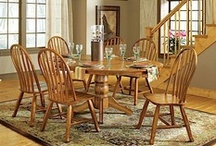 Gather 'Round The Dining Room Table / More room at the table means more memories to share with family and friends. Pull up a seat with one of our dining room groups and let the stories begin.  Check out our entire line of dining room groups here: http://www.aarons.com/c-25-dining-room.aspx