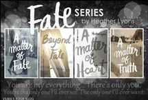 fate series / the official Pinterest board for Heather Lyons' Fate series (A Matter of Fate, Beyond Fate, A Matter of Heart, A Matter of Truth, and A Matter of Forever)