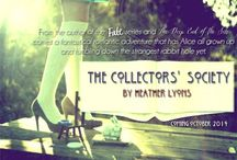 The Collectors' Society series / An inspiration board for The Collectors' Society by Heather Lyons