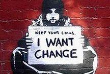 Street - urban / Street art describing life, brightening dark urban corners, beautiful, expressive, raw.